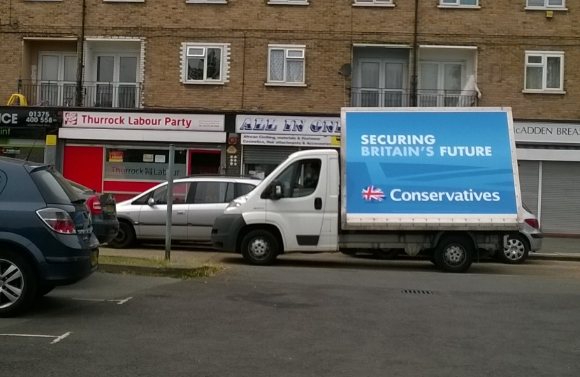 Conservatives Van